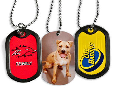 Full Color Dog Tags