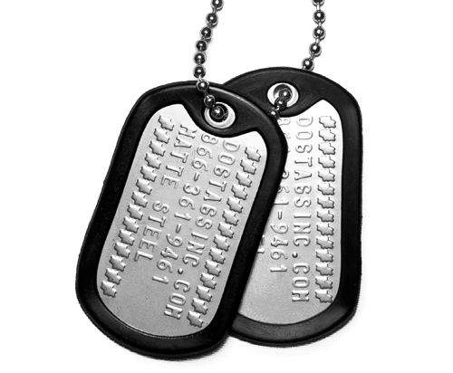 Military Dog Tag Sets