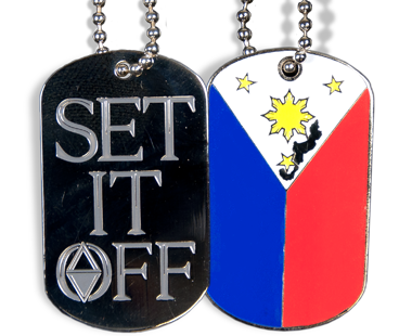 Photo Etched Dog Tags