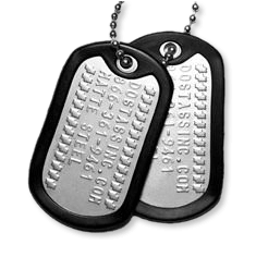 Military Dog Tag Pricing