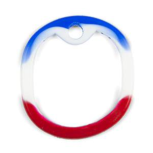 Red White & Blue Silencer